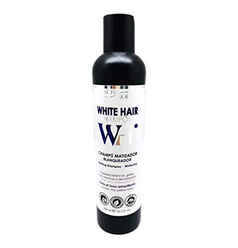 7. Champú silver WH matizador blanqueador cabellos blancos sin parabenos sin sal 300 ml. SesioM World