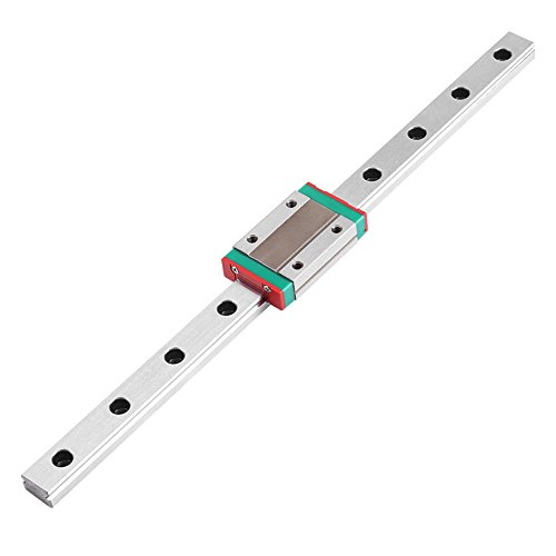 Glijrail, Lineair Rail Guide, Mini Lineaire geleiderail, Lineair Schuif Gide met MGN12H Carriage Block voor DIY 3D-printer en CNC-machine lengte 250/300/400/500/550mm (250mm)