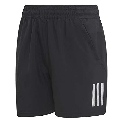 adidas Jungen Club 3-Streifen Shorts, Black/White, 140