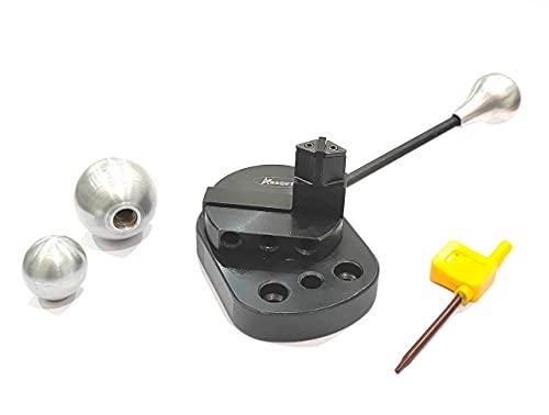 Exclusivo accesorio de torneado de bola de ajuste directo para 7 x 14 mini torno -vueltas cóncavas y convexas herramientas de ingeniería de metalurgia