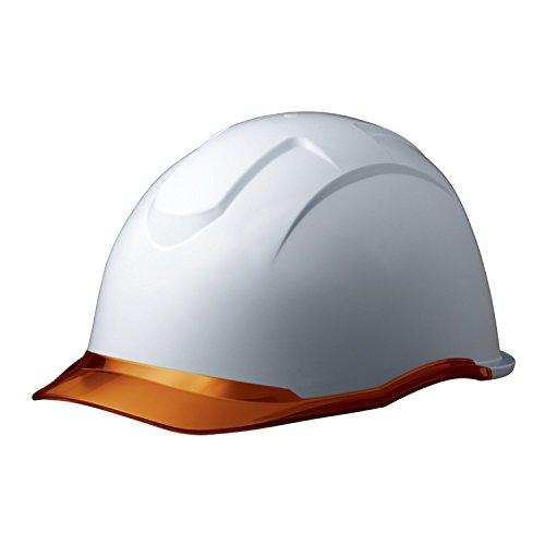 ミドリ安全 ヘルメット SC-13PCL RA KP付 コンドル ホワイト/オレンジ