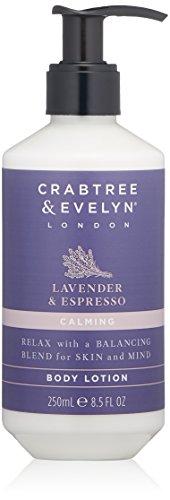 Crabtree & Evelyn Body Lotion, Lavender & Espress, 8.5 Fl Oz