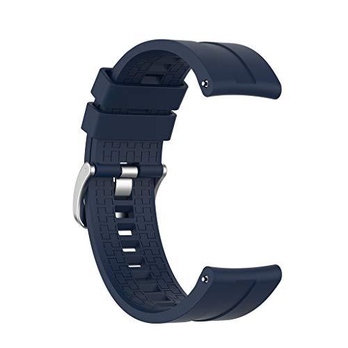 MEIYIN Pulseira de relógio esportiva clássica de silicone para GT2 46 mm Gear S3