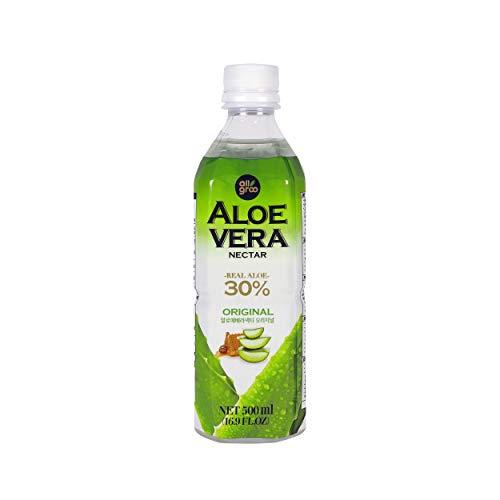 Allgroo Nectar De Aloe Vera 520 g - Pack de 12