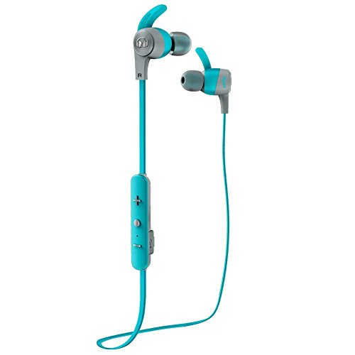 Monster MH ISRT ACH IE BL BT WW Bluetooth Sport Sweat-Resistant iSport Achieve Wireless Headphones, Blue