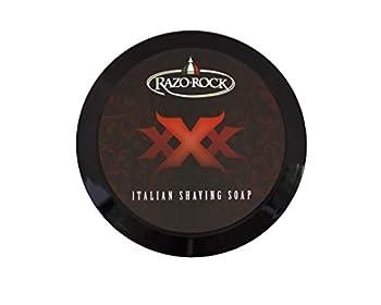 razorock xxx shaving soap