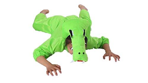 Matissa Niños Disfraces de Animales Niños Niñas Unisex Disfraces Cosplay Niños Onesie (Cocodrilo, XL (para niños de 120 a 140 cm de Altura))