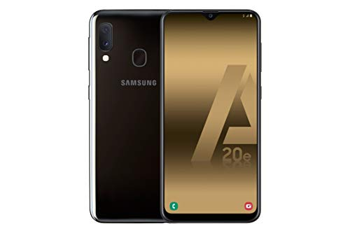 Samsung Galaxy A20e - Smartphone de 5.8' Super AMOLED (13 MP, 3 GB RAM, 32 GB ROM), Color Negro [Versión Española]