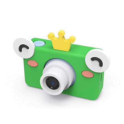 Babii HD Kids mini-digitale camera met LCD-display 2,0 inch (12,7 cm), met cartoon-stickers, cadeau voor kinderen