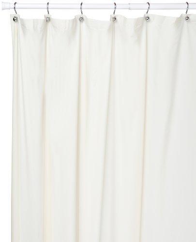 Carnation Home Fashions Duschvorhang, Vinyl, 183 x 274 cm 72-inch by 108-inch weiß