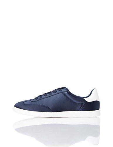find. Zapatillas Deportivas Retro para Mujer, Azul (Navy), 38 EU