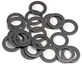 10 pcs, Switchcraft S1028 Black Fiber Washer 3/8 Hole Bushing Insulator, for use with S1029 Shoulder Washer, Chassis Isolation Spacer for 1/4