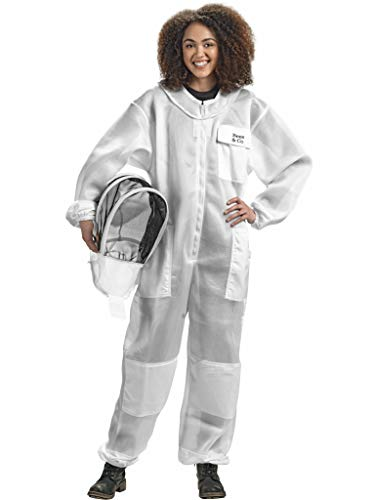 Bees & Co U84 Ultralight Beekeeper Suit with Fencing Veil