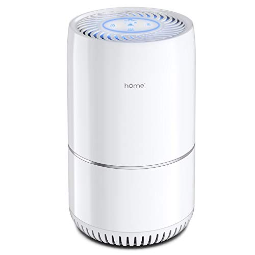 Read About hOmeLabs Air Purifier for Home, Bedroom or Office - True HEPA H13 Filter to Remove Allerg...