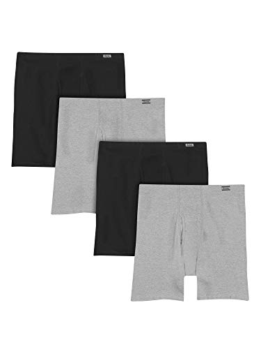 Hanes Men#039s 4Pack Comfortsoft Extended Sizes Boxer Briefs Assorted XXLarge