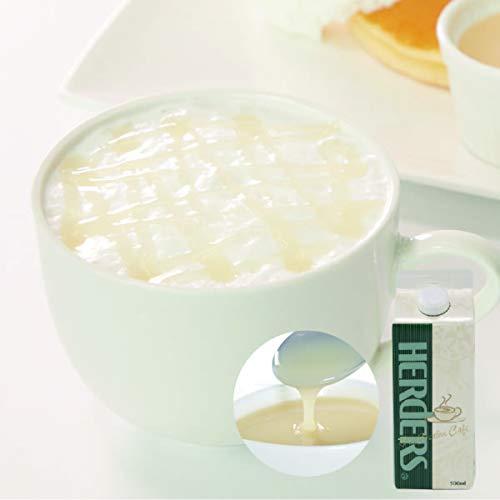 ハーダース カフェ用フレーバーソース ホワイトチョコレート 500ml×12本入