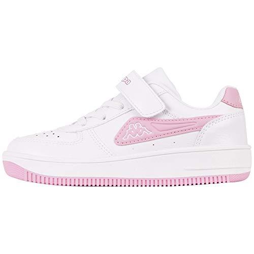 Kappa Unisex Kinder Bash Nc Sneaker, 1024 White Flieder, 32 EU