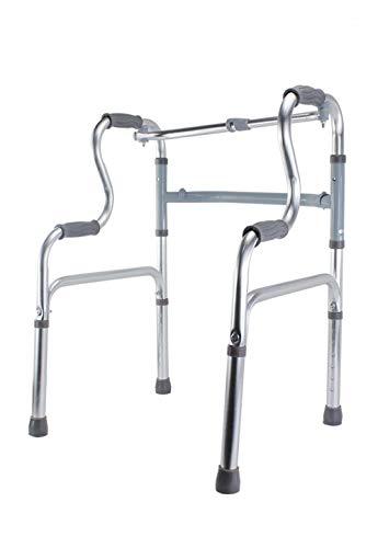 Vetrineinrete Andador para ancianos plegable y regulable en altura máx. 83 cm de aluminio ligero