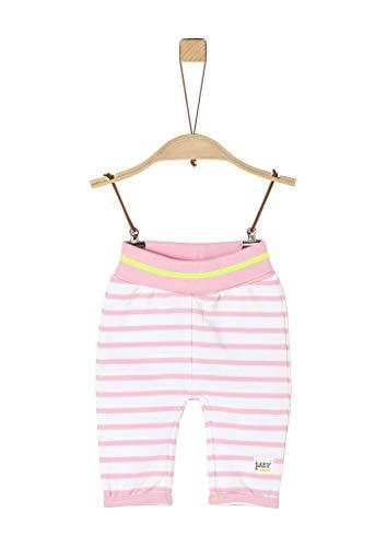 s.Oliver Junior Leggins Pantalón rosa ( 41G8 rayas rosas ) , 62 para Bebés