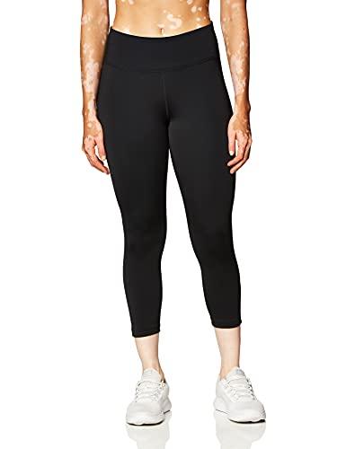 NIKE DD0247-010 W One Tight MR Crop 2.0 Leggings Womens Black/(White) XL