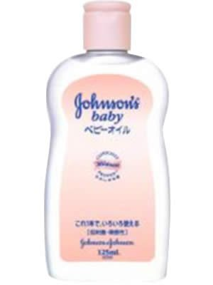ジョンソン&ジョンソン ベビーオイル 微香性 125ml ×3個セット