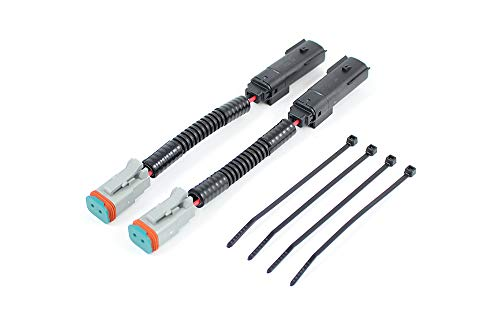Starkey Silverado/Sierra 1500 - Juego de adaptadores de cableado de luz antiniebla LED para Deutsch