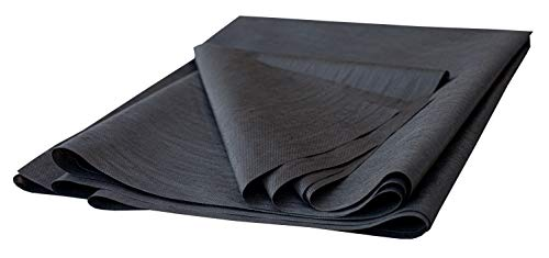 House2Home 60 Inch x 3 Yard Upholstery Black Cambric Dust Cover Fabric Replacement for Sofas, Chairs, Full and Queen Box Spring Foundations, Conceals Frame and Staples Inside Furniture