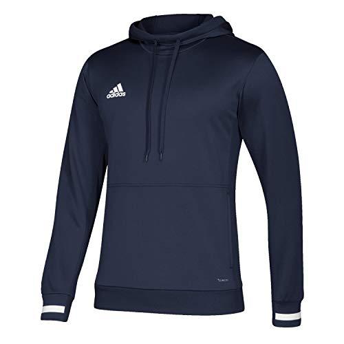 adidas Unisex Kinder T19 Hoody Y Sweatshirt, Team Navy Blue/White, 164