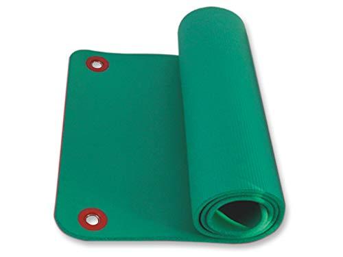 Gima - schuimrubberen mat Met 2 ringen. 180 x 60 x 1,6 cm groen