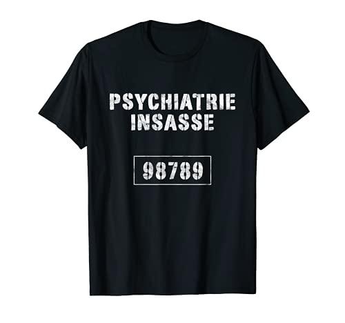 Disfraz de psiquitrico de la crcel de Jrefling Knast, color naranja Camiseta