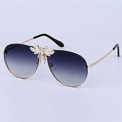 DLSM Metall Biene Sonnenbrille Coole Strand Sonnenbrille Reisebrille-C6