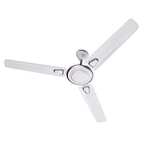 Crompton Super Briz Deco High Speed Decorative Ceiling Fan - 1200 mm (Silver White)