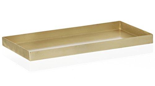Ferm Living Tablett aus Bronze Brass Tray