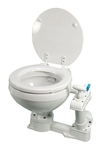Osculati manuelles WC - Pump-Toilette für Boote und Caravans - Verschiedene Ausführungen erhältlich, Ausführung:Variante A