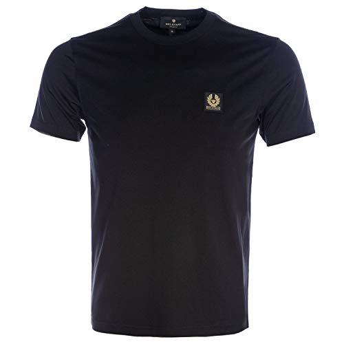 Belstaff Camiseta de Manga Corta Negro