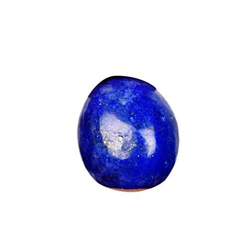 Hochwertiger blauer Lapislazuli 11,05 Ct Gold flockiger Lapislazuli, ovaler Cabochon schöner Lapislazuli-Edelstein für Anhänger