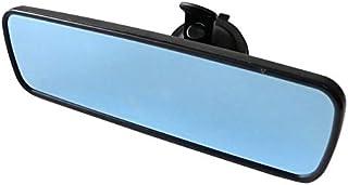 KFZ Universal Innenspiegel abblendbar Rückspiegel Anti Blend Rückspiegel Beifahrer Sicherheitsspiegel (Schwarz)