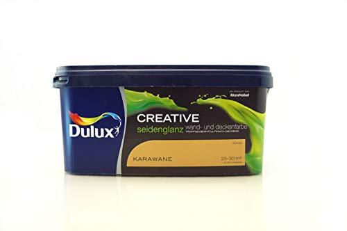 Dulux Creative Wand- und Deckenfarbe seidenglanz 2,5 l (Karawane)