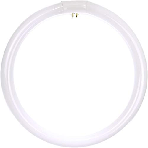 Sunlite 41315-SU FC12T9/CW Circline Fluorescent Lamps, 12-Inch Size, 32 Watts, 2100 Lumens, 4-Pin Base (G10q), 10,000 Life Hours, 1 Count (Pack of 1), 41K-Cool White