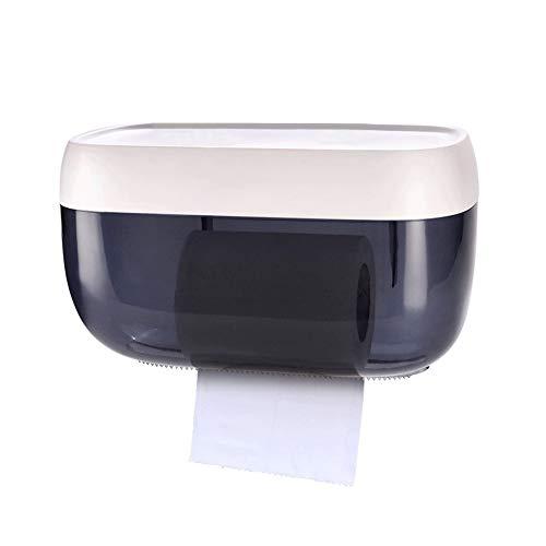 Funie Aufbewahrungsbox für Taschentücher, wasserfest, Kunststoff, Wandmontage, Blau OneSize grau