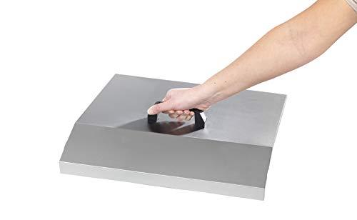 KRAMPOUZ - Accessoire plancha ACP4 Capot inox planchas Saveur simples