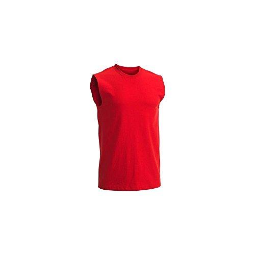 Fruit of the Loom T-shirt sans manches pour homme - rouge - XX-Large