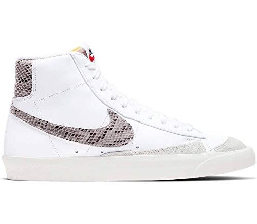 Nike Blazer MID'77 VNTG WE Reptile Sneakers Bianco PITONATO CI1176-101 (45 - Bianco)
