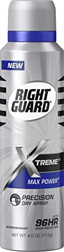 Right Guard Xtreme Max Power Precision Odor Protection Dry Spray (Pack of 3)