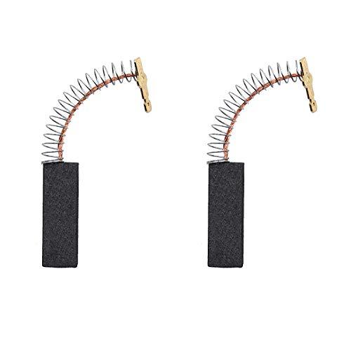 154740 - Cepillo de carbono compatible con motor de lavadora Bosch laminado 00154740 para lavadora Bosch Siemens (paquete de 2)