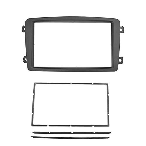 Radio de coche Fascia ajuste para BENZ C CLASS W203 W209 panel de radio reajuste tablero montaje montaje kit cara