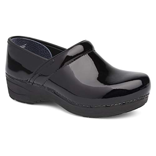 Dansko Women's XP 2.0 Black Patent Clogs 5.5-6 M US