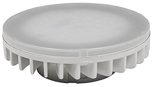 McShine - LED Strahler Leuchtmittel | LS-653 | 8W, 800 lm, GX53, 120°, warmweiß | für Deckenlauchten, Einbauleuchten, Bodenleuchten, etc.