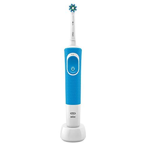 Oral-B 610498 Vitality 100 Crossaction Elektrische tandenborstel, oplaadbaar, blauw
