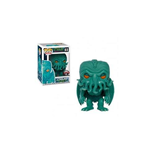 Funko - HP Lovecraft-Cthulhu (Neon Green Edition), Figura Multicolor, 33109